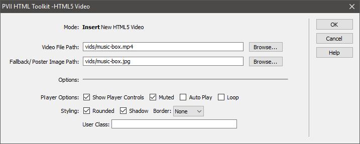 PVII Responsive HTML5 Video